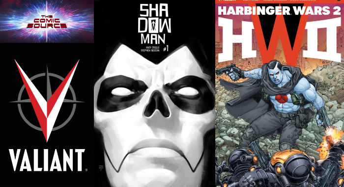 The Comic Source Podcast Episode 374 – Valiant Sunday: Shadowman Spotlight & Harbinger Wars II #2