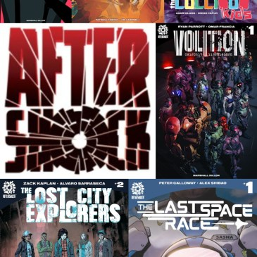 The Comic Source Podcast Episode 408 – AfterShock Monday: The Lost City Explorers #2 & Upcoming Titles