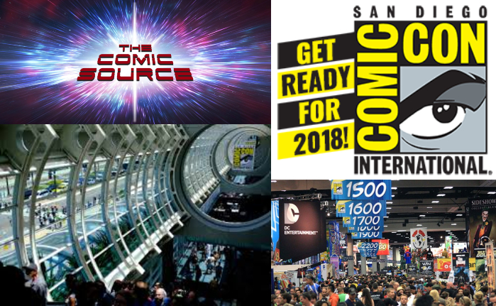 The Comic Source Podcast Episode 411 – SDCC 2018 Preview