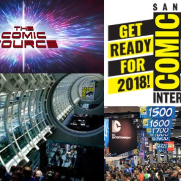 The Comic Source Podcast Episode 418 – SDCC 2018 Live from the Gaslamp