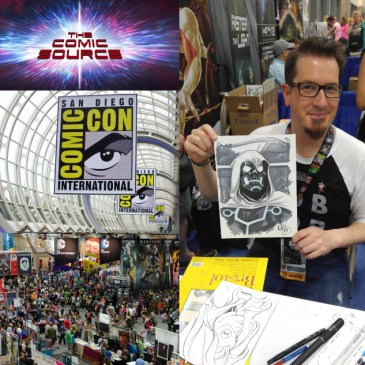 The Comic Source Podcast Episode 424 – San Diego Sound Bytes 2018: Mark Brooks