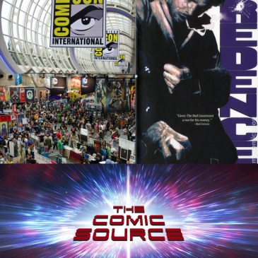 The Comic Source Podcast Episode 440 – San Diego Sound Bytes 2018: Michael Easton