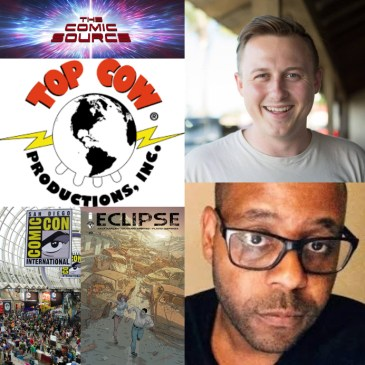 The Comic Source Podcast Episode 444 – Eclipse #9 & SDCC 2018