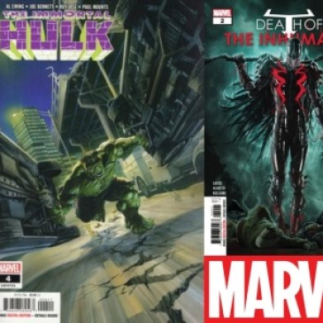 The Comic Source Podcast Episode 450 – Marvel Monday: Infinity Wars #1, Cosmic Ghost Rider #2, Death of Inhumans #2, Immortal Hulk #4