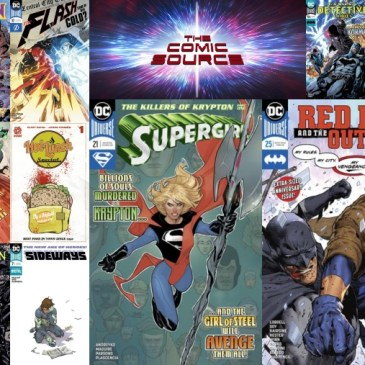 The Comic Source Podcast Episode 453 – New Comic Wednesday August 8, 2018