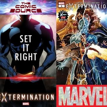The Comic Source Podcast Episode 497 – Extermination #1 Spotlight