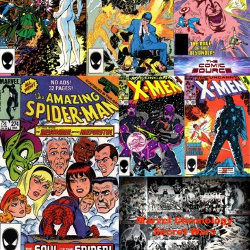The Comic Source Podcast Episode 504 – Marvel Chronology: Secret Wars II Tie-Ins