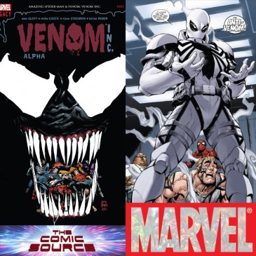 The Comic Source Podcast Episode 526 – Marvel Monday: Venom Inc. & Daredevil #5