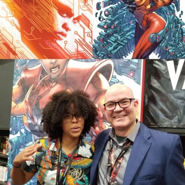 The Comic Source Podcast Episode 532 – Valiant Sunday; Talking Livewire with Vita Ayala