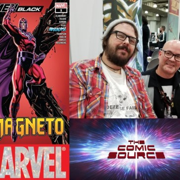 The Comic Source Podcast Episode 536 – Spotlight on X-Men Black Magneto & Matthew Rosenberg Live from NYCC 2018