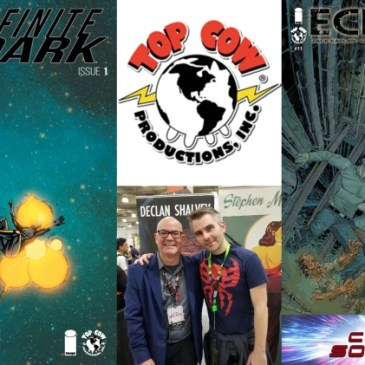 The Comic Source Podcast Episode 538 – Top Cow Thursday; Eclipse #11 & Infinite Dark #1 Plus A Quick Chat with Stephen Mooney from NYCC 2018