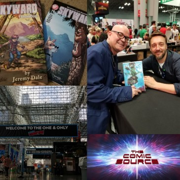 The Comic Source Podcast Episode 539 – NYCC 2018 Wrap-Up, Thoughts on the Skyward Kickstarter Rewards & A Quick Chat with Lee Garbett from NYCC 2018