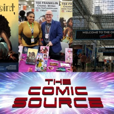 The Comic Source Podcast Episode 541 – A Chat with Tee Franklin at NYCC 2018