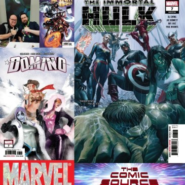 The Comic Source Podcast Episode 547 – Marvel Monday: Immortal Hulk #7, Infinity Wars #4, Domino #7 & A Chat with Al Ewing NYCC 2018
