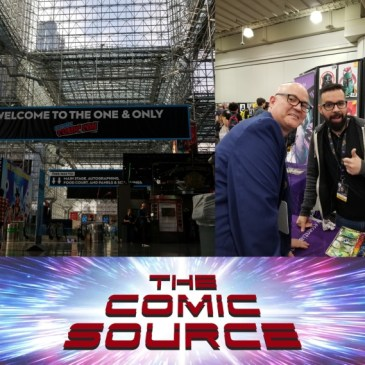The Comic Source Podcast Episode 557 – A Chat with Rod Reis NYCC 2018