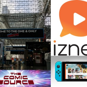 The Comic Source Podcast Episode 565 – A Look at Izneo from NYCC 2018