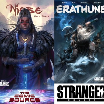 The Comic Source Podcast Episode 568 – Stranger Comics at LACC & Erathune Kickstarter