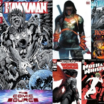 The Comic Source Podcast Episode 537 – New Comic Wednesday October 10, 2018