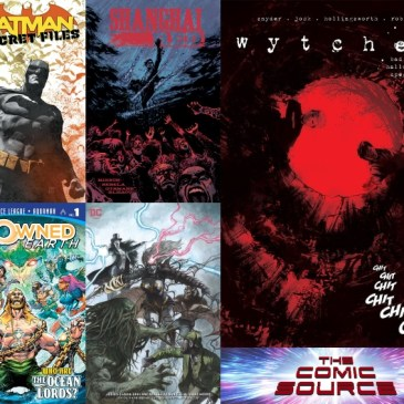 The Comic Source Podcast Episode 574 – New Comics Wednesday: October 31, 2018