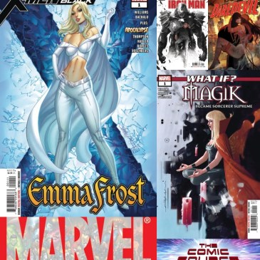 The Comic Source Podcast Episode 581 – Marvel Monday: X-Men Black – Emma Frost, What If Magick … Tony Stark, Iron Man #5 & Daredevil #7