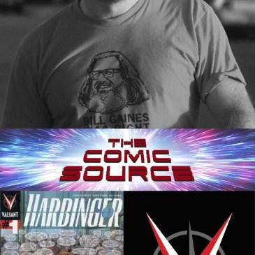 The Comic Source Podcast Episode 588 – Valiant Sunday: Chronology – Harbinger #1 with Joshua Dysart