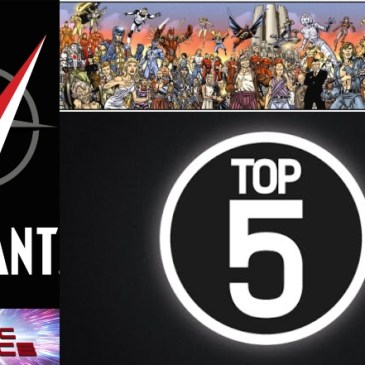 The Comic Source Podcast Episode 597 – Valiant Sunday: Top 5 VEI Titles