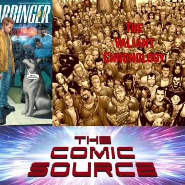 The Comic Source Podcast Episode 607 – Valiant Sunday: Chronology – Harbinger #2