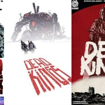 The Comic Source Podcast Episode 637 – AfterShock Monday: Dead Kings Spotlight & A Walk Through Hell #6 Preview