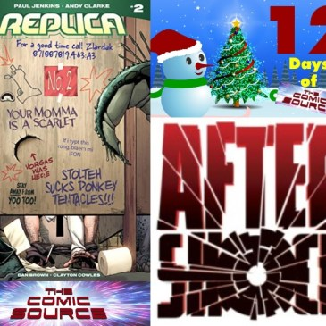 The Comic Source Podcast Episode 647 – AfterShock Monday: Replica #2