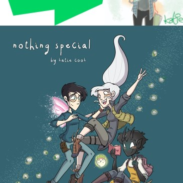 The Comic Source Podcast Episode 650 – Webtoons: Spotlight on Nothing Special with Katie Cook