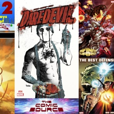 The Comic Source Podcast Episode 648 – Marvel Monday: December 24, 2018