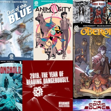 The Comic Source Podcast Episode 657 – AfterShock Monday: 2019 The Year of Living Dangerously