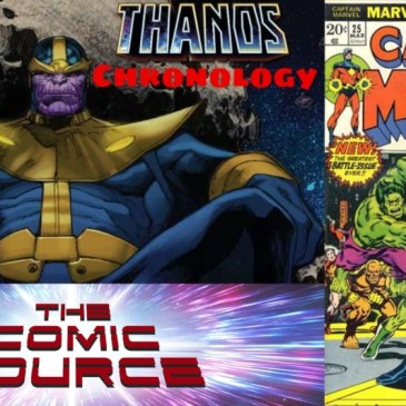 Marvel Chronology: Thanos – Captain Marvel #25:The Comic Source Podcast Episode #664