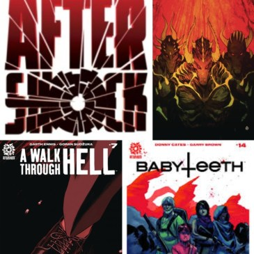 AfterShock Monday: The Comic Source Podcast Episode #678