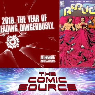 Replica #3 Spotlight – AfterShock Monday: The Comic Source Podcast Episode #688