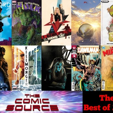 Best of 2018 – The Comic Source Podcast Episode #700