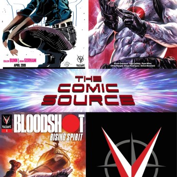 Valiant Sunday – Punk Mambo #1 Preview & Bloodshot: PRS #3-4: The Comic Source Podcast Episode #736
