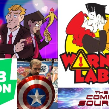 Webtoon Wednesday – Warning Label & Cupid's Arrows with Thom Zahler: The Comic Source Podcast Episode #742