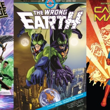 Friday Spotlight: Justice League #15, Captain Marvel #1 & Wrong Earth #1: The Comic Source Podcast Episode #684