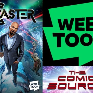 Webtoon Wednesday – Caster with Austin Harrison: The Comic Source Podcast Episode #752