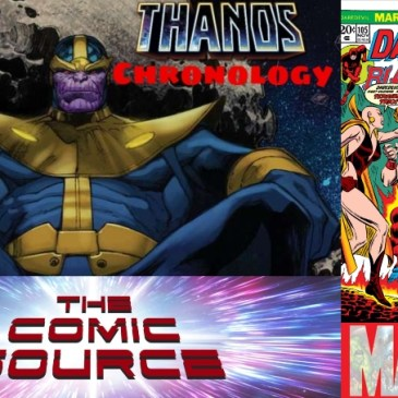 Marvel Chronology: Thanos Reading Order – Daredevil #105: The Comic Source Podcast Episode #735