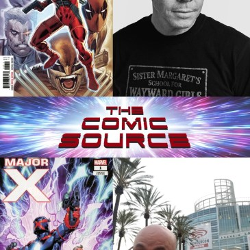 Major X with Rob Liefeld from WonderCon: The Comic Source Podcast Episode #791