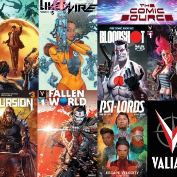 Valiant Sunday – Life & Death of Toyo Harada #2, Livewire #5 Plus Upcoming Title Previews; The Comic Source Podcast Episode #809