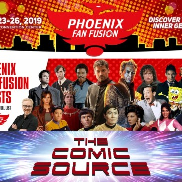 Phoenix Fan Fusion Preview: The Comic Source Podcast Episode #853