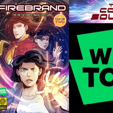WEBTOON Wednesday – Firebrand Season Two with Erika Lewis: The Comic Source Podcast Episode #935