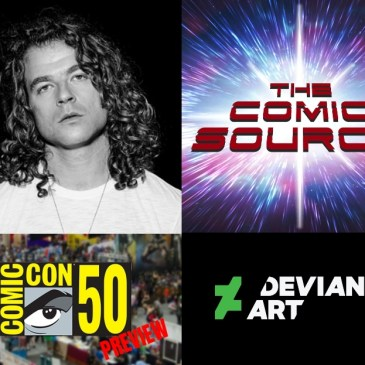 SDCC 2019 Preview – DeviantArt with Justin Maller: The Comic Source Podcast Episode #942