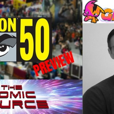 San Diego Comic Con 2019 Preview – Graphite Comics with Tom Akel: The Comic Source Podcast Episode #947