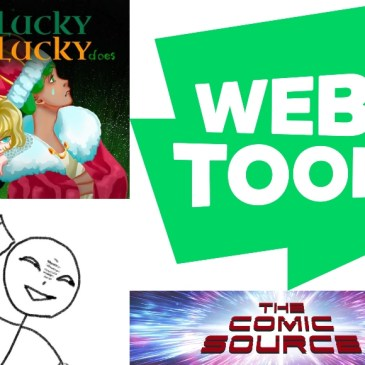 WEBTOON Wednesday – Unlucky Is As Lucky Does: The Comic Source Podcast Episode #1048