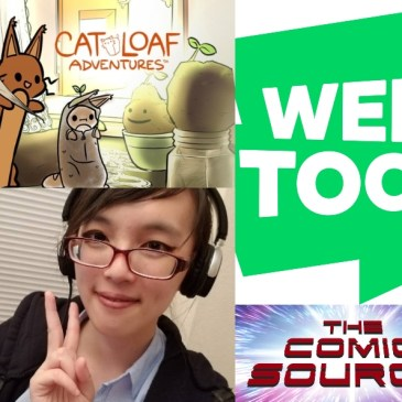 WEBTOON Wednesday – Cat Loaf Adventures with Kyutepastry: The Comic Source Podcast Episode #1067