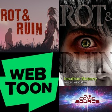 WEBTOON Wednesday – Rot & Ruin with Jonathan Maberry: The Comic Source Podcast Episode #1177
